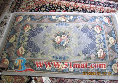 印度手工编织地毯 -湖北邦丽洁地面材料有限公司
